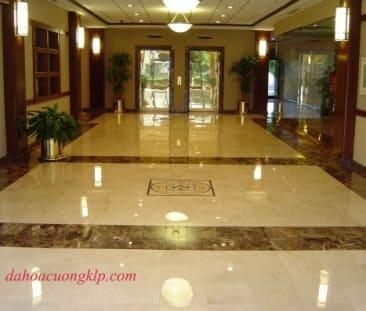 Mop floor, stone floor
